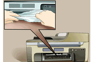 تعمیر کاغذکش پرینتر hp