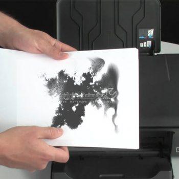 کاغذها در پرینتر سیاه می شوند