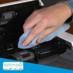 آموزش تمیز کردن درام دستگاه کپی اچ پی