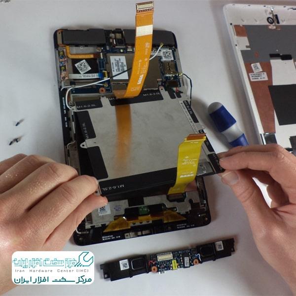 تعمیر باتری تبلت اچ پی