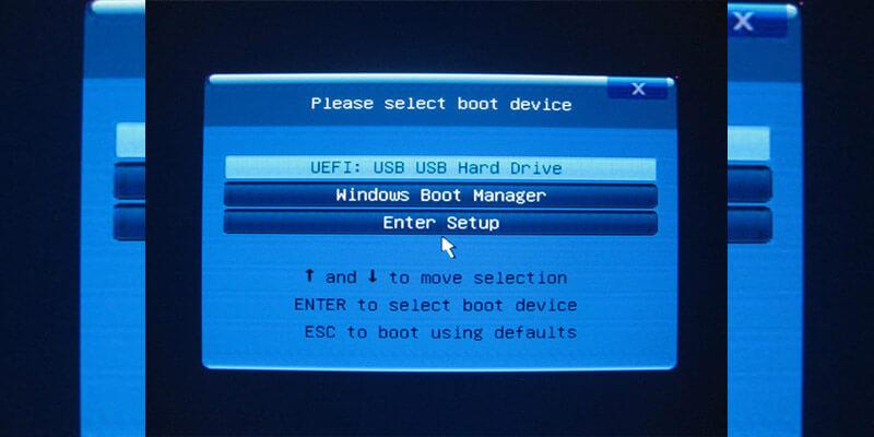 نصب ویندوز 10 روی لپ تاپ اچ پی